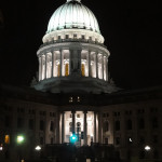 The Wisconsin State Capitol, March 12, 2011. Photo: Kevin Featherly