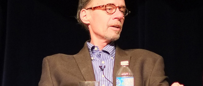 David Carr, 1956-2015. (Image, courtesy Wikipedia.)